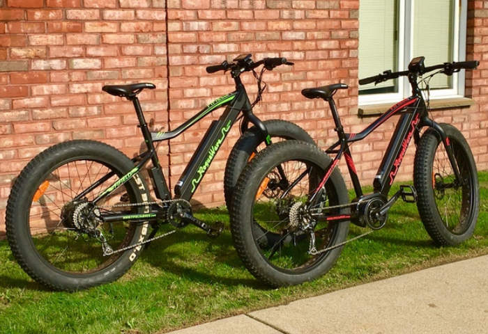 Fat Tire Electric Bike Range