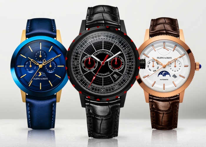 filippo loreti luxury watch raises over 1 1 million via kickstarter video geeky gadgets