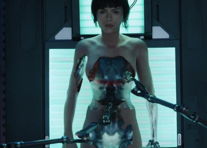 Ghost In The Shell 2017 Movie Trailer Starring Scarlett Johansson