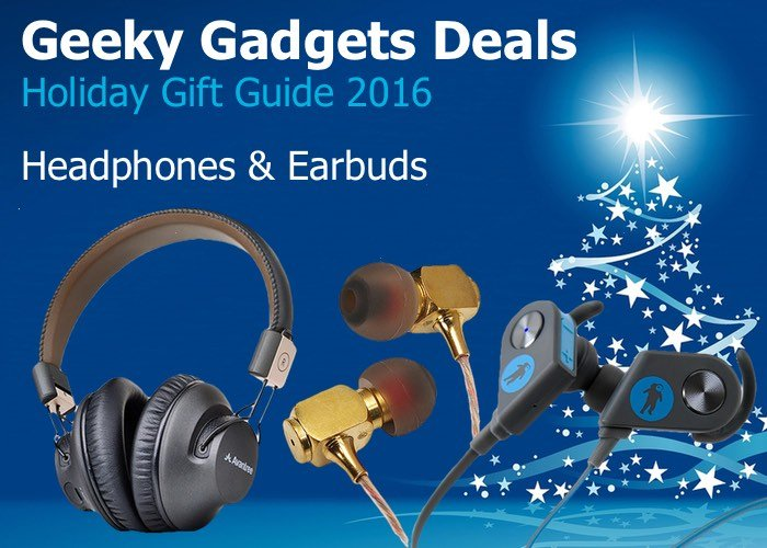 Headphones Gift Guide 2016