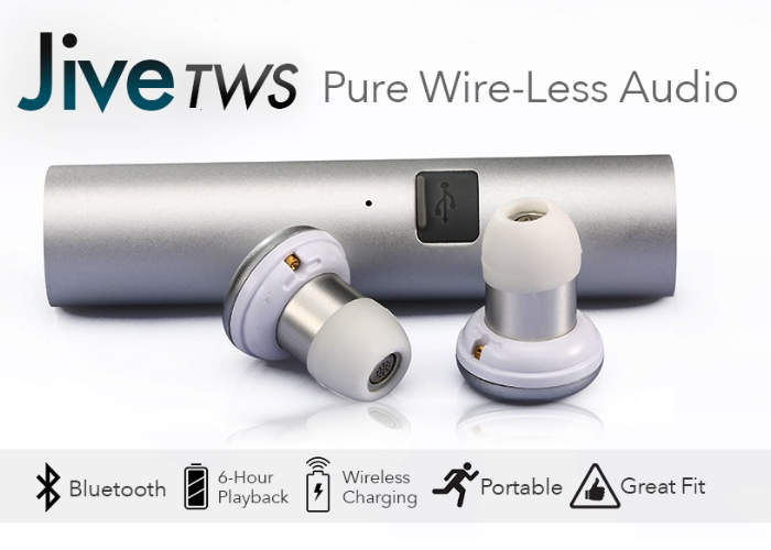 Jive TWS Wireless Earbuds Hits Kickstarter