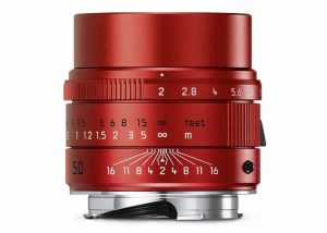 Leica Red Summicron 50mm Lens Unveiled For $8,950
