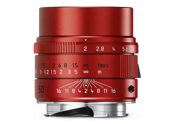 Leica Red Summicron 50mm Lens