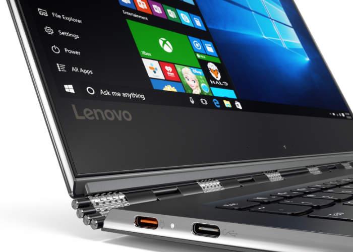 Lenovo Yoga 910 Convertible Notebook