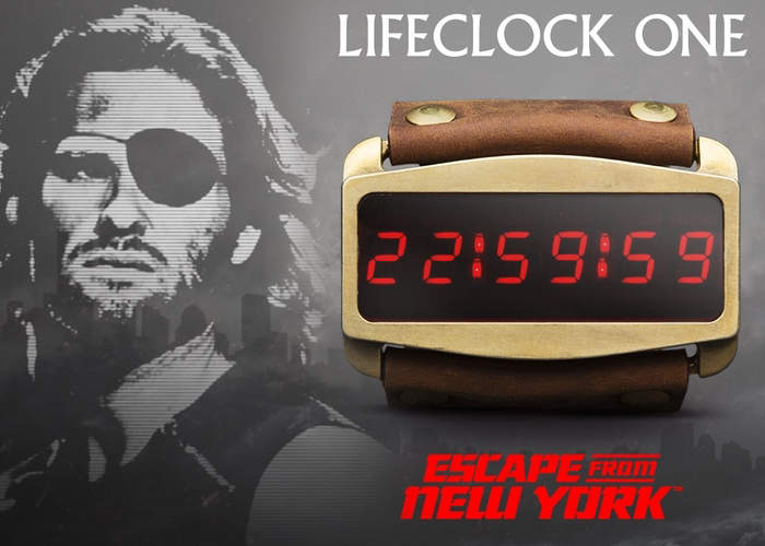 Lifeclock One Smartwatch Inspired By Escape from New York