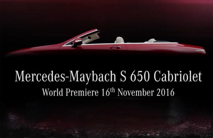 Mercedes Maybach S 650 Cabriolet