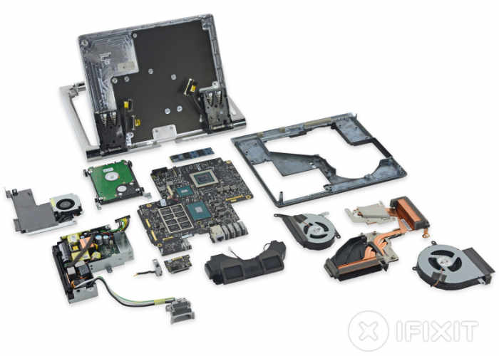 Microsoft Surface Studio Desktop Pc Teardown By Ifixit