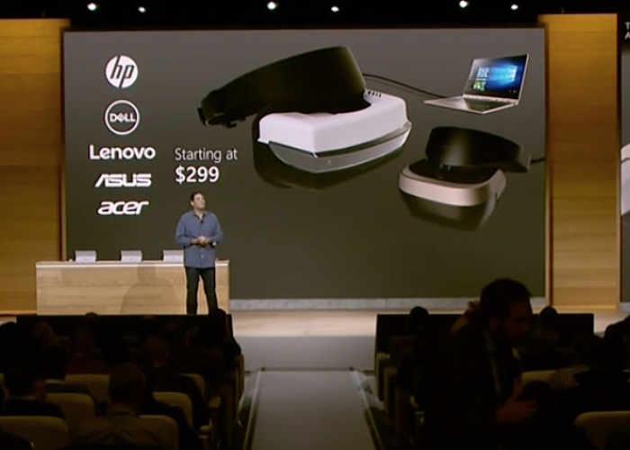 Microsoft Windows 10 VR Headset
