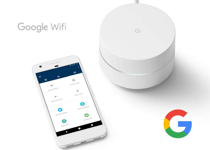 New Google WiFi Router