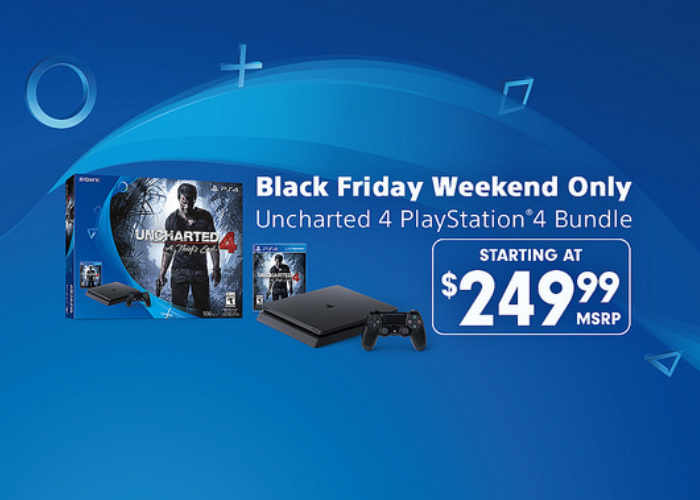 PlayStation Black Friday Uncharted 4 PS4 Bundle