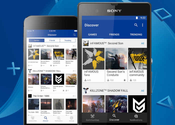 Playstation Communities now has its own app for Android