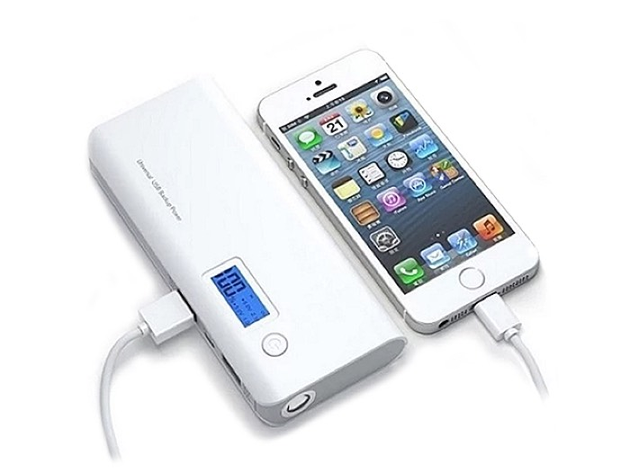 Portable 12,000mAh Power Bank