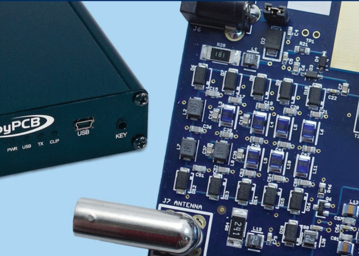 RS-HFIQ Software Defined Radio (SDR) 5W Transceiver