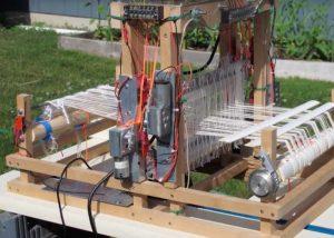 Raspberry Pi Loom Created By Fred Hoefler (video)