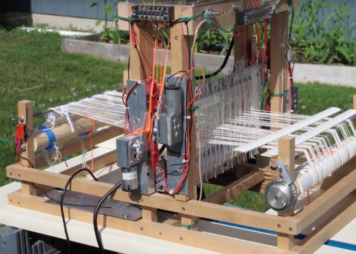 Raspberry P Powered Loom