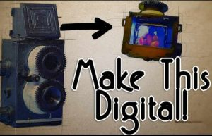 Raspberry Pi Digital Twin Reflex Camera Created (video)