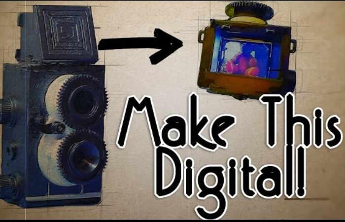 Raspberry Pi Digital Twin Reflex Camera
