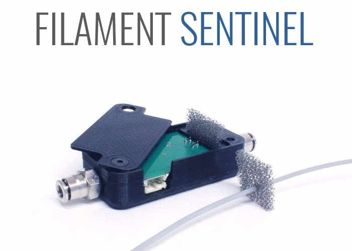 Sentinel 3D Printer Ultimate Filament System Unveiled