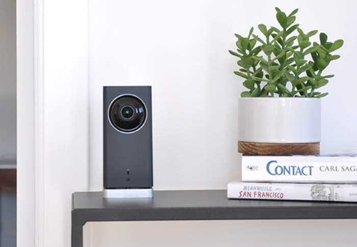 Smart Home Security Camera With Motion Tracking Kit