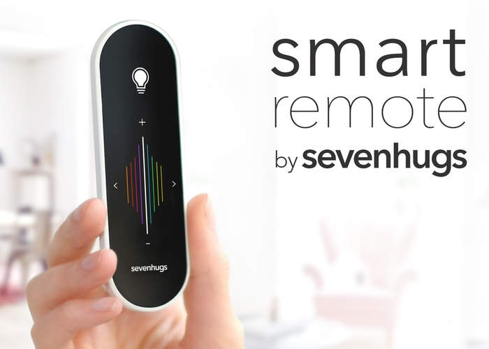 Sevenhugs Smart Remote Takes Home Automation To The Next Level (video)