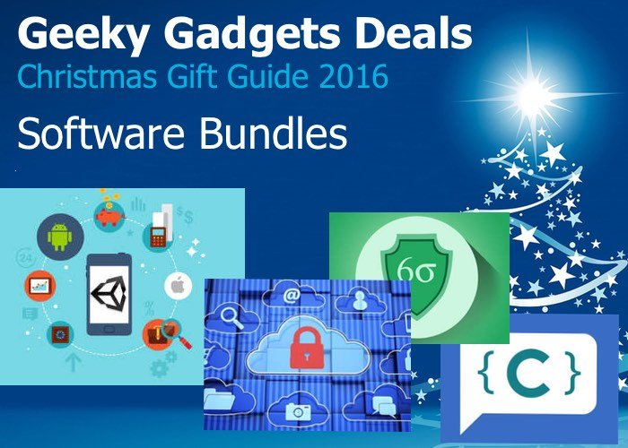 Software Bundle Gifts 2016