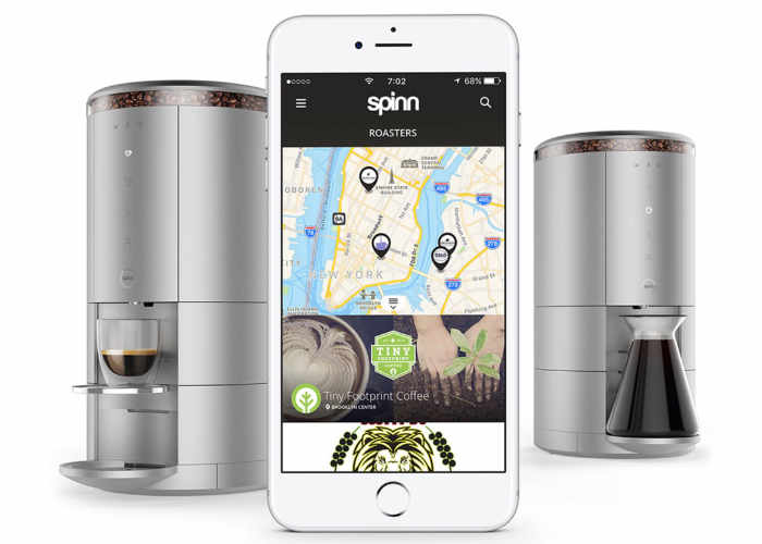 Spinn Smartphone Controlled Coffee Maker