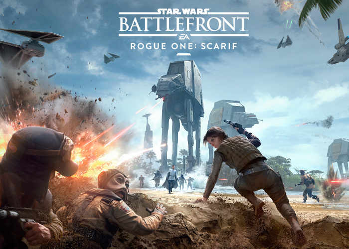 Star Wars Battlefront Rogue One Scarif Expansion DLC