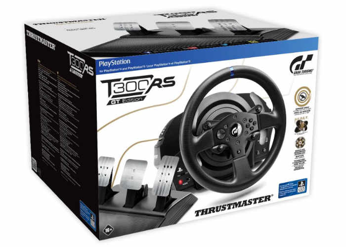 thrustmaster t300rs gt edition playstation racing wheel unveiled for 400 geeky gadgets. Black Bedroom Furniture Sets. Home Design Ideas