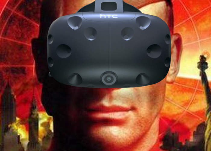 VR Red Alert 2 HTC Vive