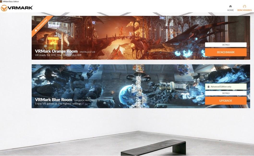 VRMark; The Virtual Reality Benchmark By Futuremark