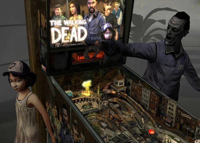 'Pinball FX2 VR' Coming to Vive & PSVR, Getting 'Walking Dead' Table