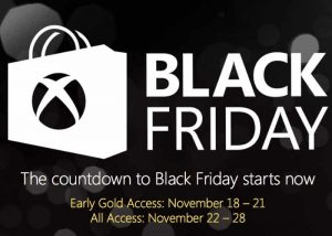 Xbox Black Friday Deals Start Tomorrow (video)