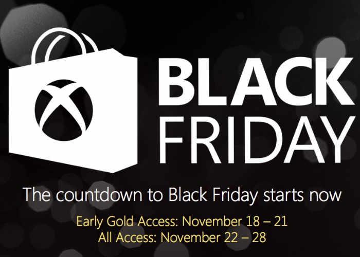 Xbox Store Black Friday Deals