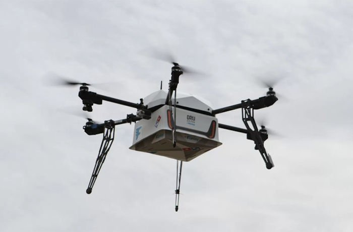 In New Zealand You Can Get Pizza By Drone