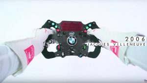 Video shows how F1 Steering Wheels have Evolved