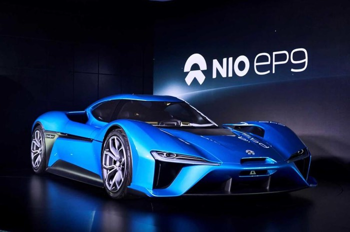 Nio EP9 introduced, claims to be world's fastest electric supercar