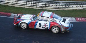 Rally Prepped Porsche 911 Does the Green Hell Backwards