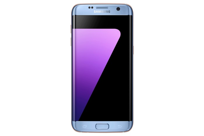 Blue Coral Samsung Galaxy S7 Edge