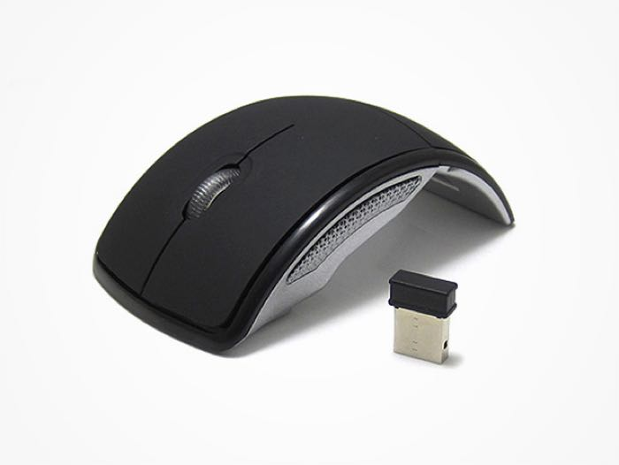 Mini Foldable Arc Wireless Mouse