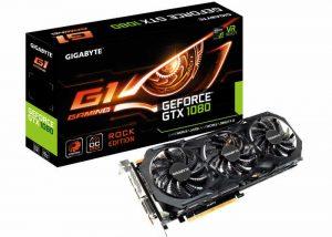 GIGABYTE GeForce GTX 1080 Rock Edition Graphics Card Unveiled
