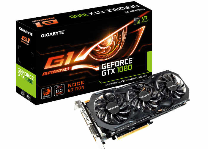 GIGABYTE GeForce GTX 1080 Rock Edition Graphics Card