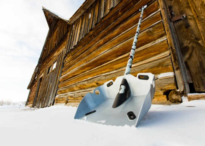 Alpha Shovel The Ultimate Snow Shovel