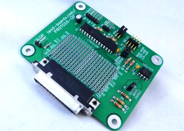 Arduino And Raspberry Pi Prototype I/O Card