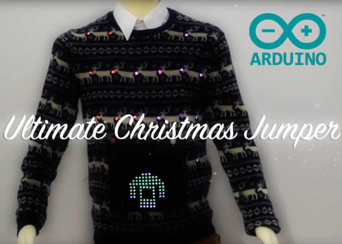 Arduino Christmas jumper