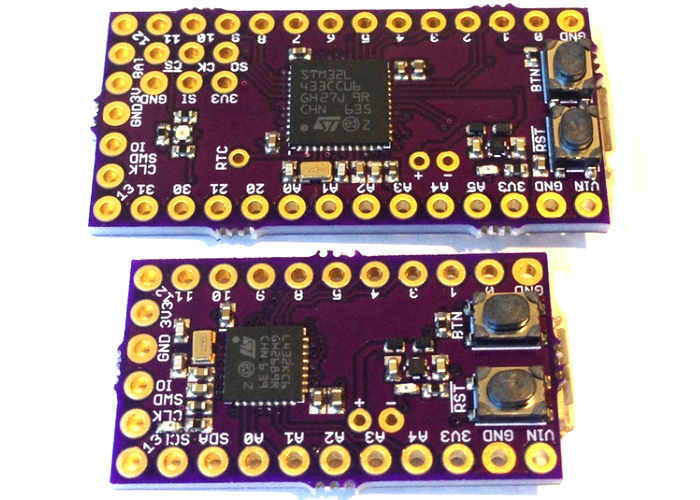 Arduino Cortex M4F Development Boards