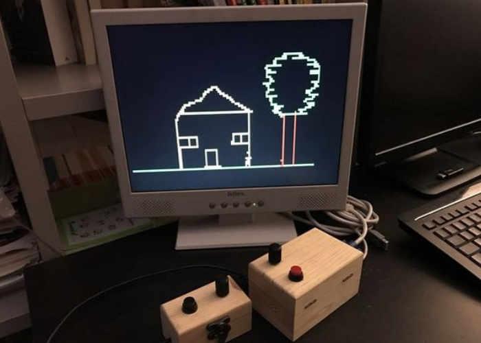 Arduino Etch-a-Sketch