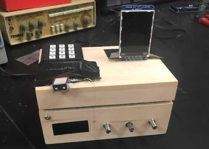 Arduino Four Factor Lock Box