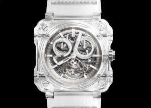 Bell & Ross BR-X1 Tourbillon Sapphire Watch Unveiled