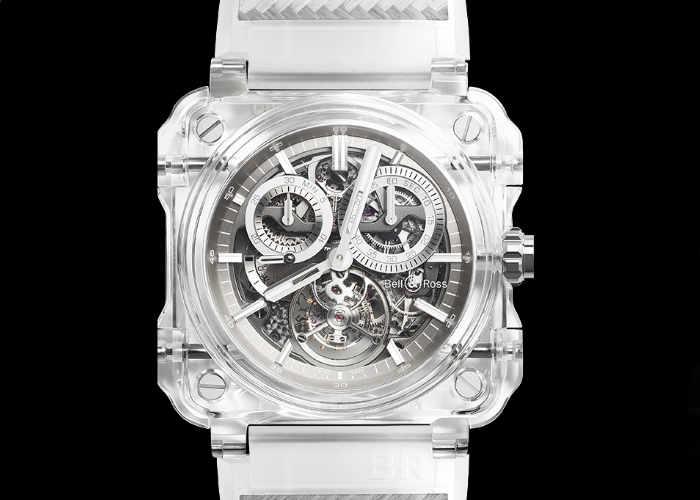 Bell & Ross BR-X1 Tourbillon Sapphire Watch