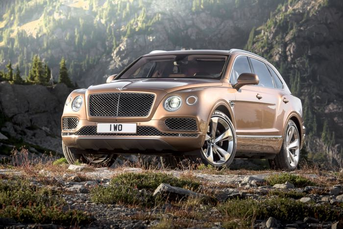 Bentley Bentayga Coupe
